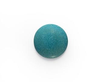 Ceramic Turquoise Matte Cabochon