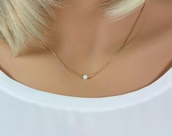 Gold Opal Choker, Minimal Opal Choker,Thin Gold Choker,Gold Choker Thin,Minimal Choker Opal,Opal Choker,Layering Choker,White Opal Choker