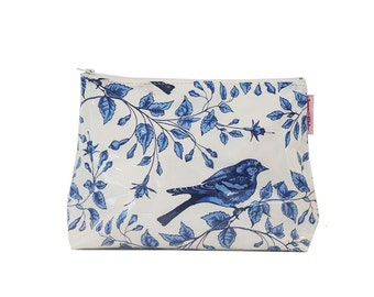 Blue Bird Large Toiletry Bag