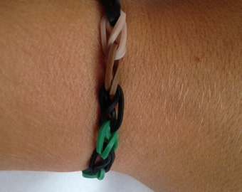 Camo Rubber Band Bracelet