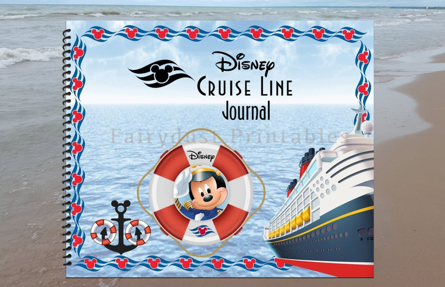 Printable Disney Cruise Line Journal 21 Pages