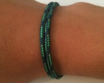 Sailing rope bracelet adjustable