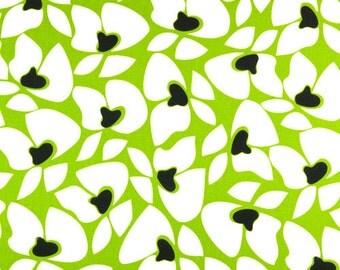 3 yards Premier Prints Helen Chartreuse-Black