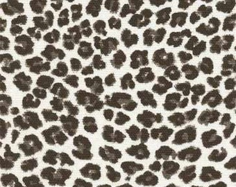 4 yards Premier Prints Leopard Black-White