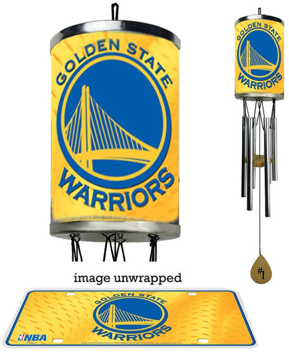Golden State Warriors Wind Chime