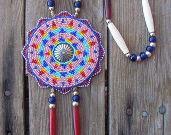 Native american beadwork | Etsy