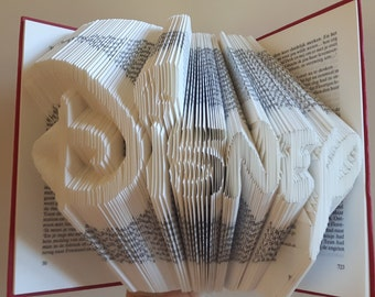 Folded book-Disney