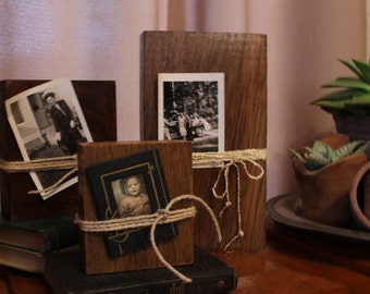 Reclaimed Picture holders