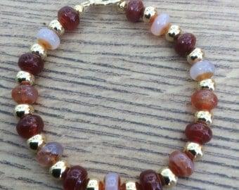 Carnelian & Bead Jewellery