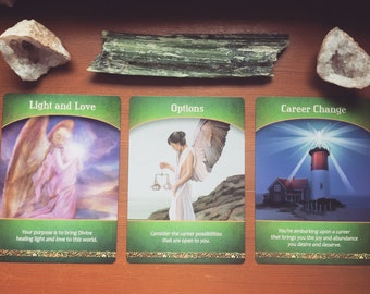 Career/Work Reading - Life Path - Oracle Card Reading- via E-Mail