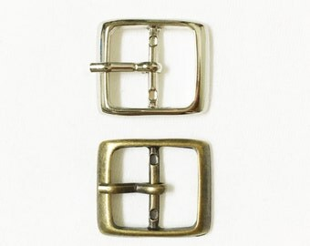 Pack of 10 - Outer Size 23 x 20 mm Buckle for Shoes, Bags.