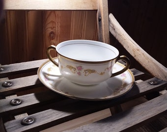 Bavarian china cream soup 1920s