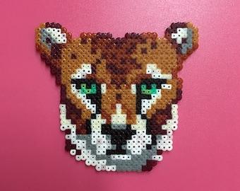 Cheetah - Hama beads