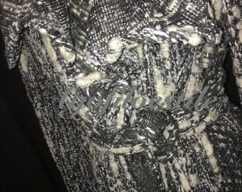 Coat/cardigan wool melange
