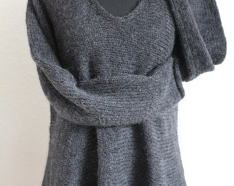 Sweater / chunky knit tunic
