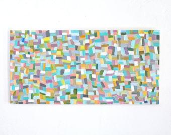 12x24 Original Artist Acrylic Painting