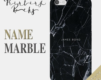 Custom iPhone 7 Case Personalized iPhone 7 Case Black Marble iPhone 7 case iPhone 7 plus iPhone 6s Plus iPhone 6 Plus iPhone 6s iPhone 6 1