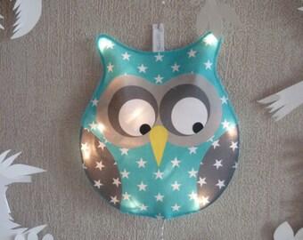Little night light blue OWL