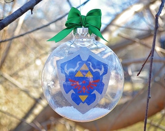 Legend of Zelda: Ocarina of Time Hyrulian Shield - Christmas Tree Ornament