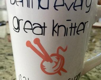 Mug for knitter