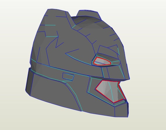 batman helmet foam template. Black Bedroom Furniture Sets. Home Design Ideas