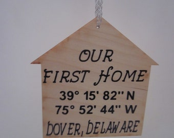 Our First Home Ornament *Free Shipping*