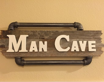 Industrial Mancave Sign