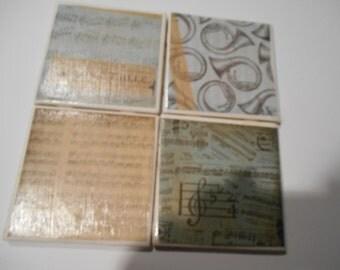 Josephine's Miscellany Coasters - Set of 4