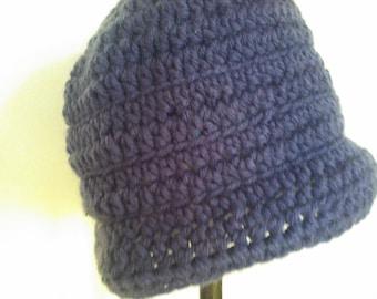 Winter Hat in Purple