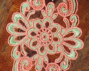 Lorraine Embroidered Cuff