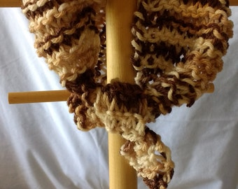 Knitted Neck Warmer Scarf
