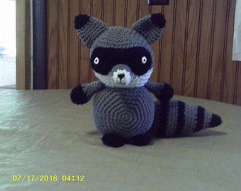Crochet Amigurumi Raccoon