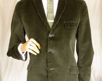 Original 60's green cord jacket