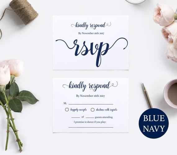 RSVP Postcard Template RSVP Template Wedding Rsvp Postcards - Rsvp postcard template