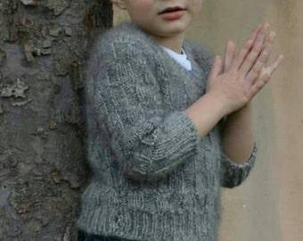 Boys Angora Sweater