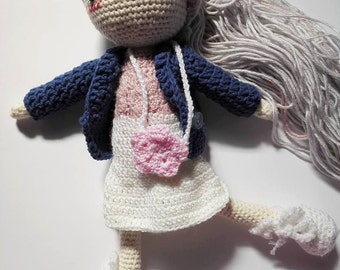 Crochet/Amigurumi doll pattern Winter Quilo
