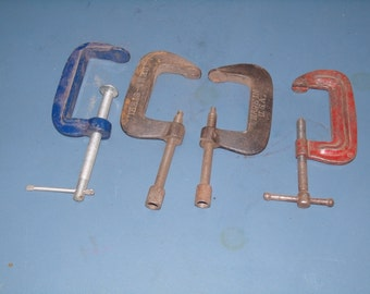 Set of Vintage Clamps