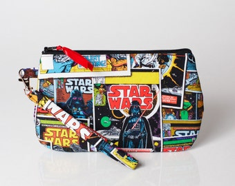 Sith and Jedi Comic Book Wristlet