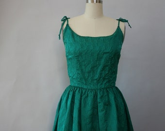 1950's holly dress vintage