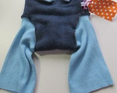 Grateful Buns Wool Soaker 3-Layer Diaper Cover Medium 10 to 20 lbs MS310k15