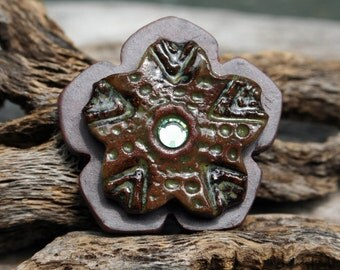 Handmade Ceramic Shank Button