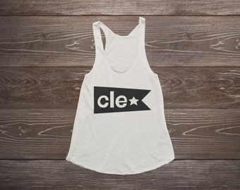 Women's Tank Top - Cleveland Flag