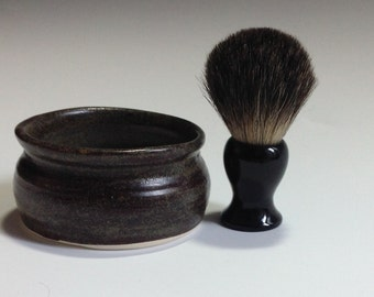 Bid Bad Dude With a Badger Brush and Soap
