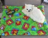 Cat Bed, Cat Blanket, Cat Mat, Travel Pet Mat, Crate Mat, Mat With Catnip Toy, Colorado Catnip, Washable Cat Bed, Luxury Cat Bed, Pet Mat