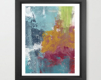 Abstract Painting- Original Painting on Canvas. Abstract Art Wall Decor, Acrylic Painting Artwork