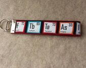 Table of Elements - Key Fob Wristlet