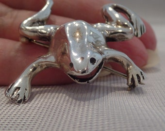 FROG Pin Sterling