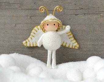 Angel Bug Christmas Bendy Doll