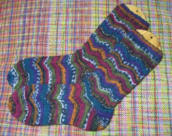 Hand Knit Soft Wool Socks