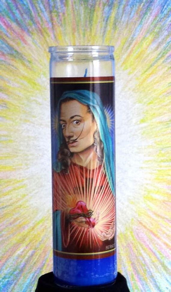Santo Dali Candle